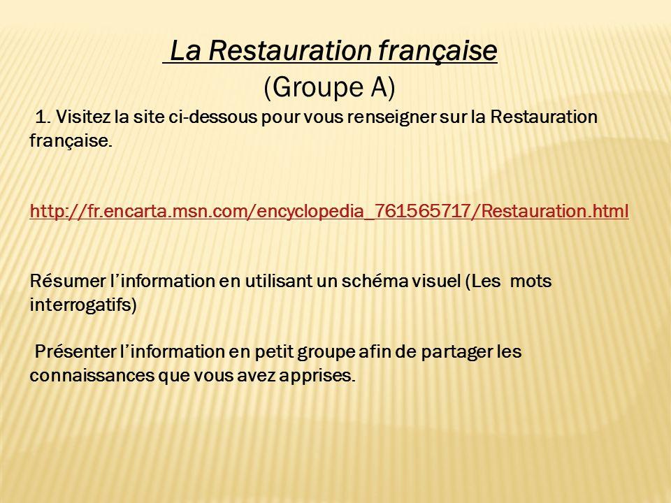 La Restauration française