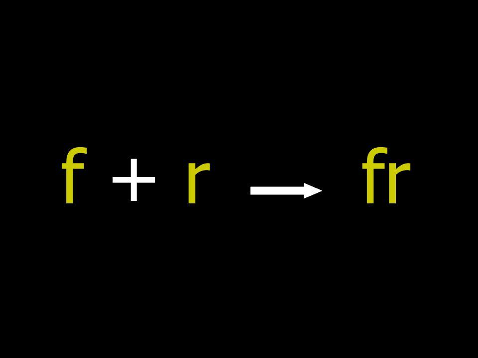 f + r fr