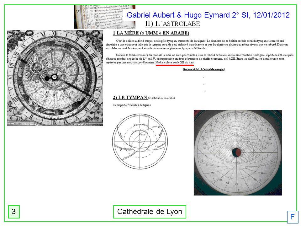 Gabriel Aubert & Hugo Eymard 2° SI, 12/01/2012