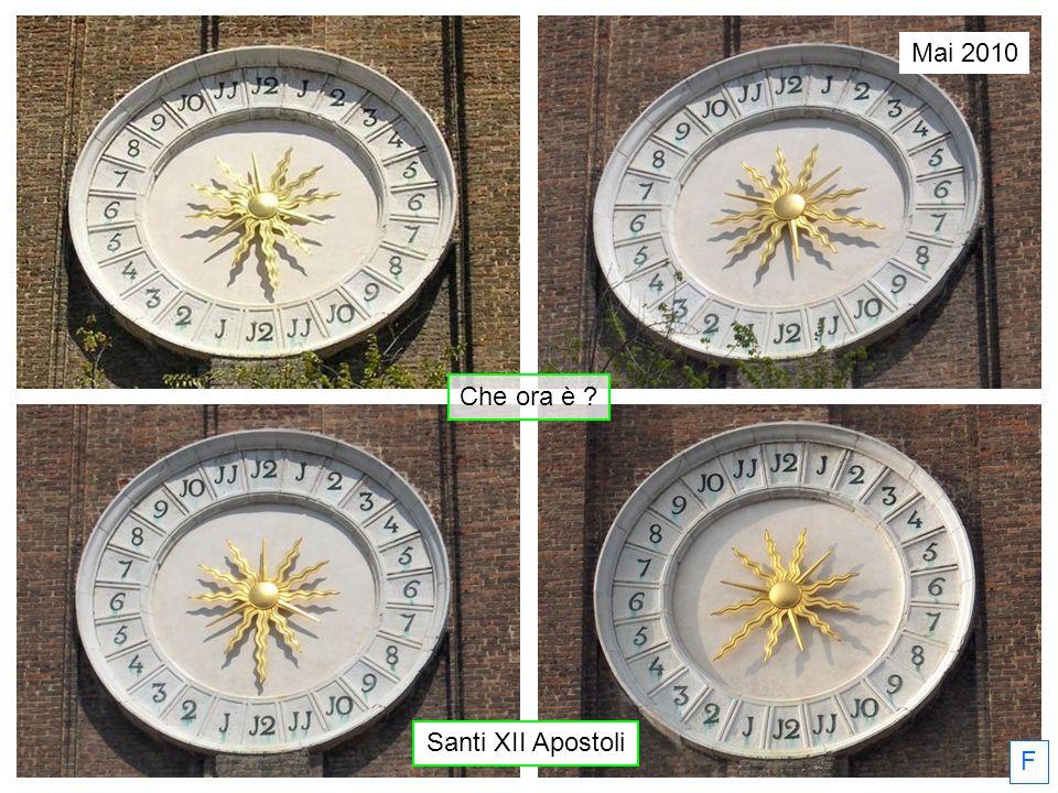 Mai 2010 Che ora è Santi XII Apostoli F