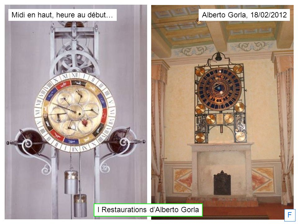 I Restaurations d'Alberto Gorla