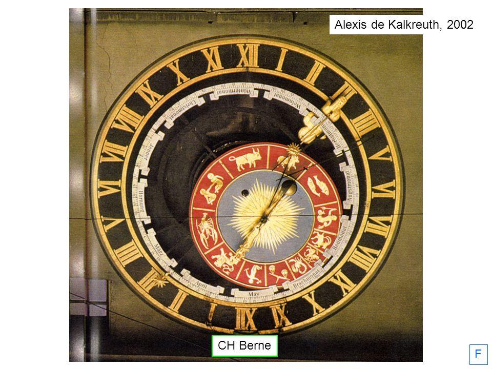 Alexis de Kalkreuth, 2002 CH Berne F