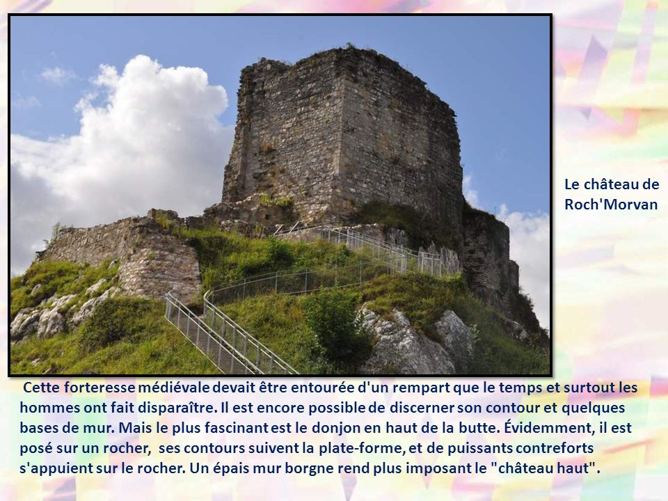 Le château de Roch Morvan