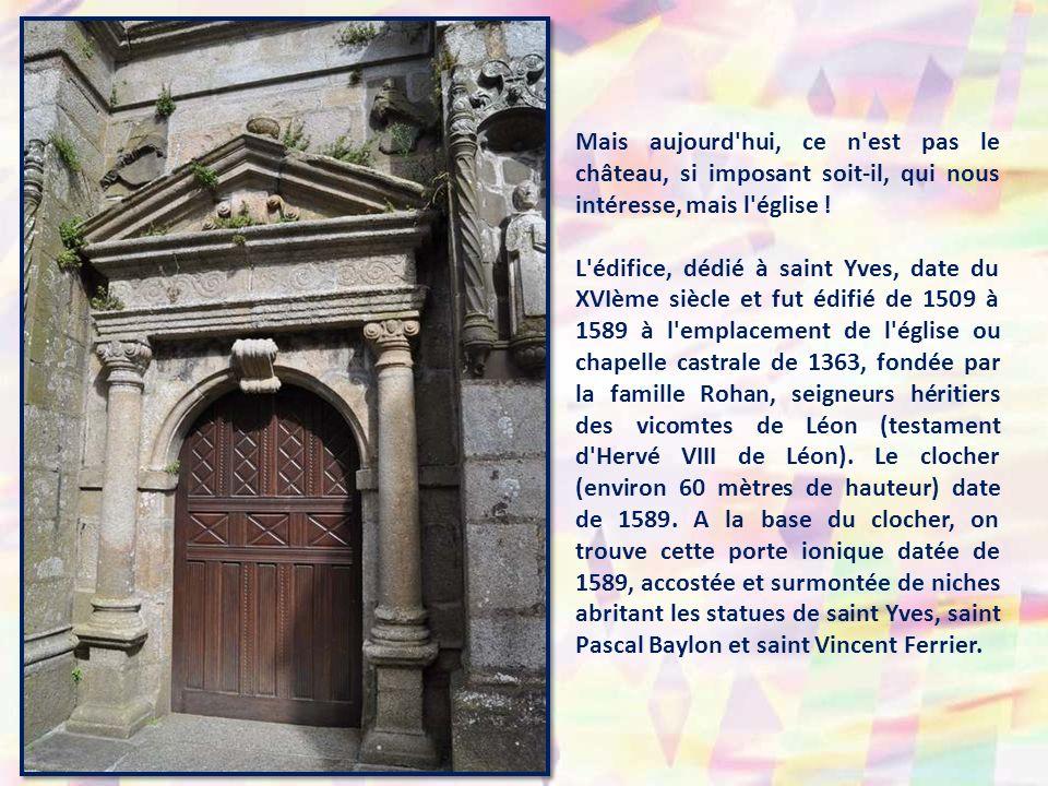Mais aujourd hui, ce n est pas le château, si imposant soit-il, qui nous intéresse, mais l église !
