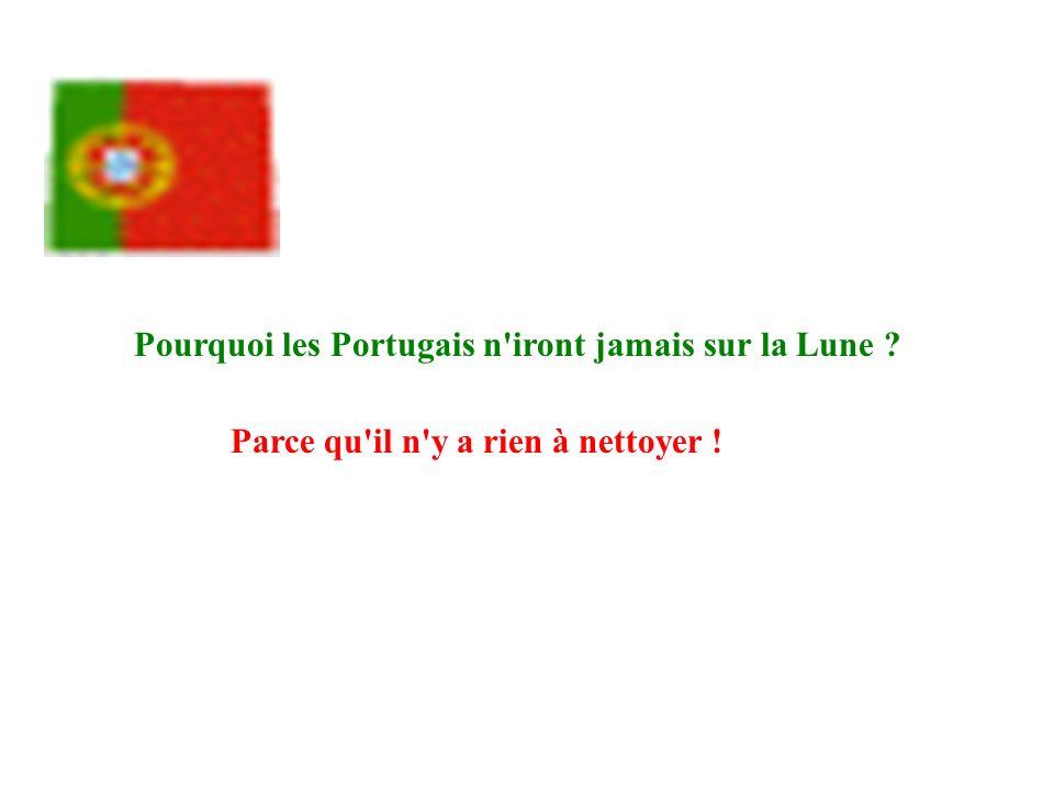 Pourquoi les Portugais n iront jamais sur la Lune