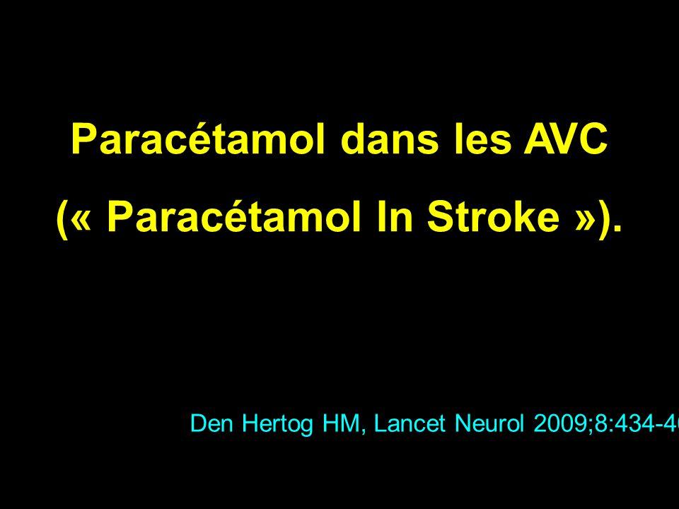 Paracétamol dans les AVC (« Paracétamol In Stroke »).