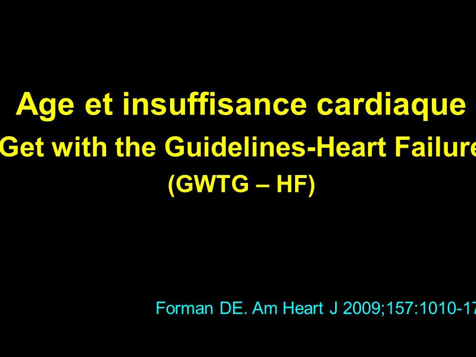 Age et insuffisance cardiaque