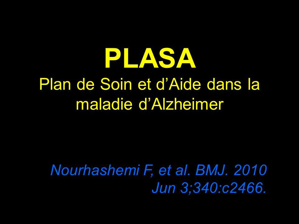 PLASA Plan de Soin et d'Aide dans la maladie d'Alzheimer