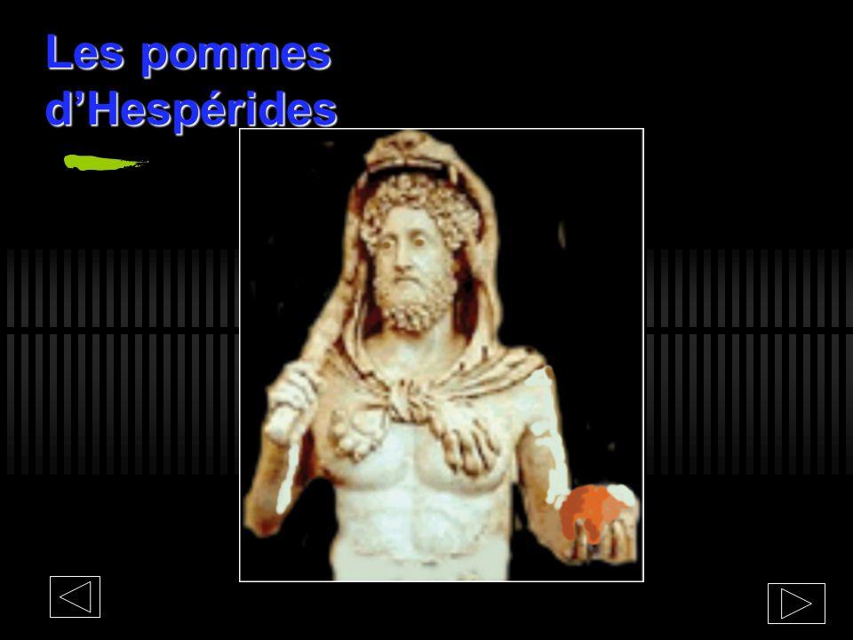 Les pommes d'Hespérides