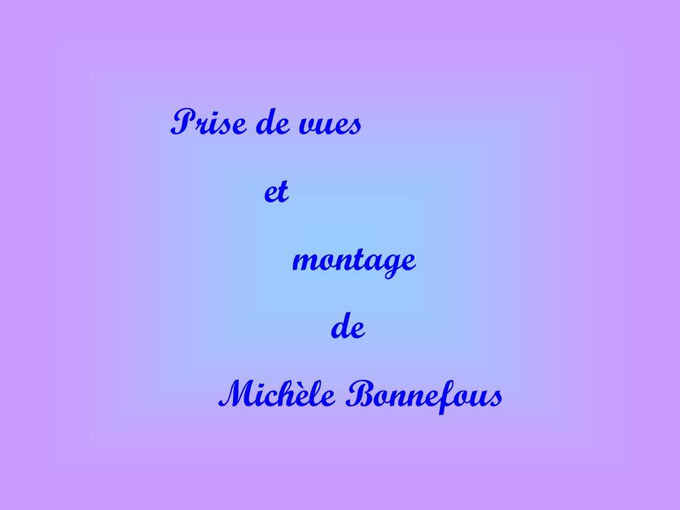 Prise de vues et montage de Michèle Bonnefous