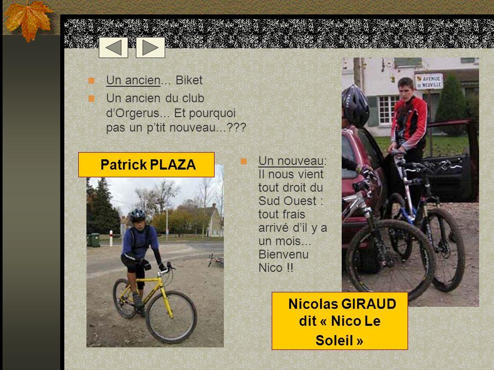 Nicolas GIRAUD dit « Nico Le Soleil »