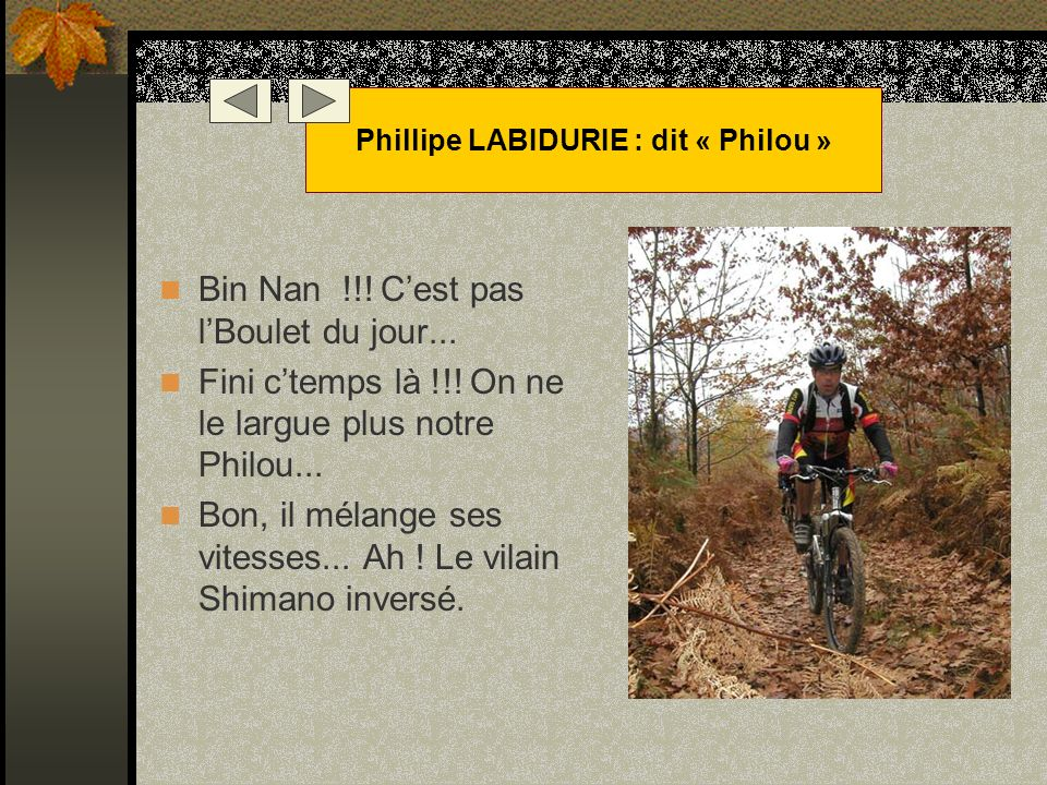 Phillipe LABIDURIE : dit « Philou »