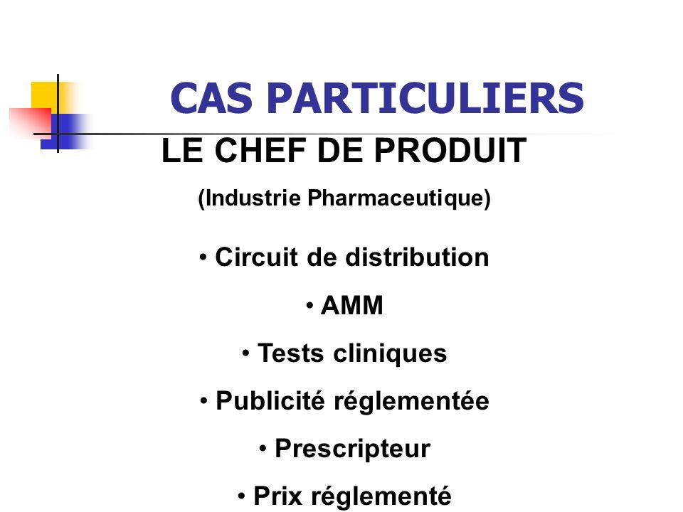 Circuit de distribution Publicité réglementée
