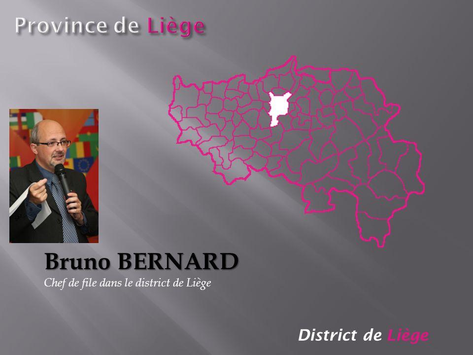 Bruno BERNARD Province de Liège District de Liège