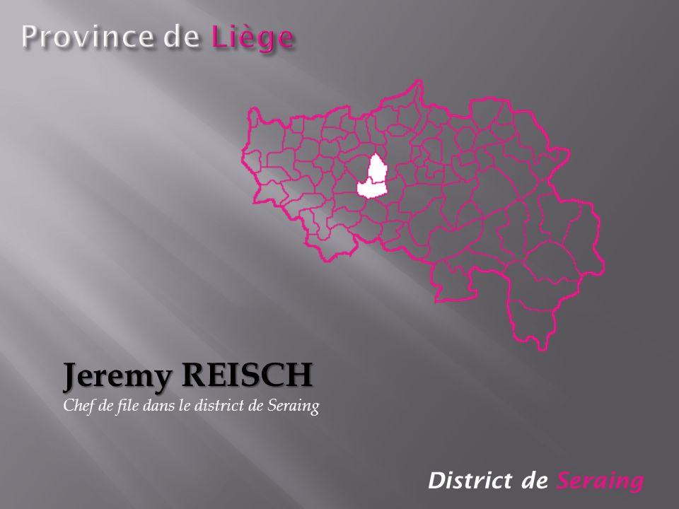Jeremy REISCH Province de Liège District de Seraing