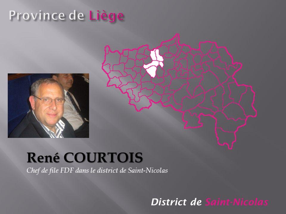 René COURTOIS Province de Liège District de Saint-Nicolas