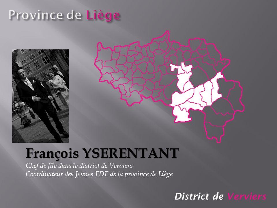 François YSERENTANT Province de Liège District de Verviers