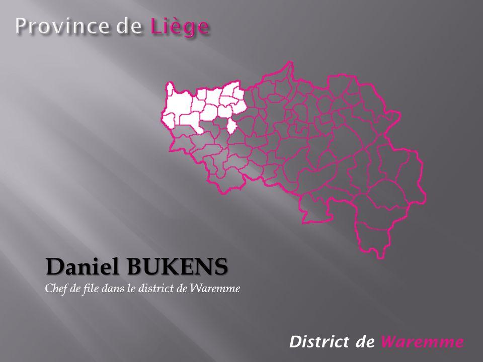 Daniel BUKENS Province de Liège District de Waremme