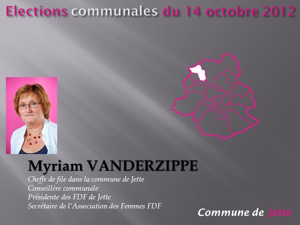 Elections communales du 14 octobre 2012