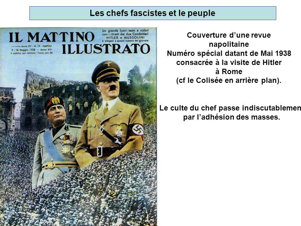 Les chefs fascistes et le peuple