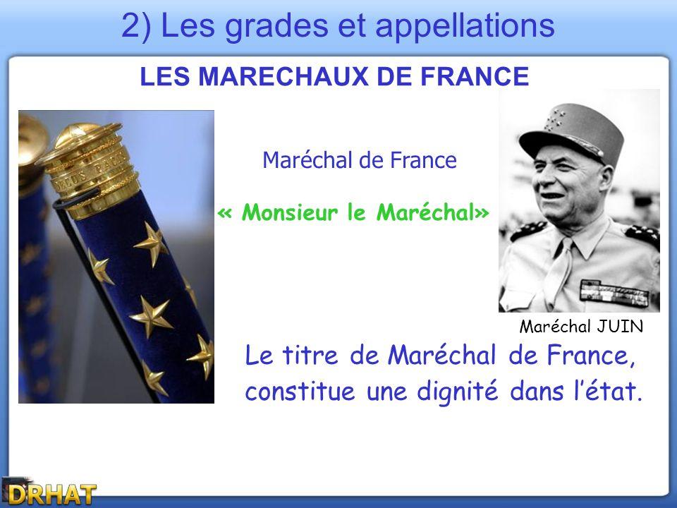 LES MARECHAUX DE FRANCE