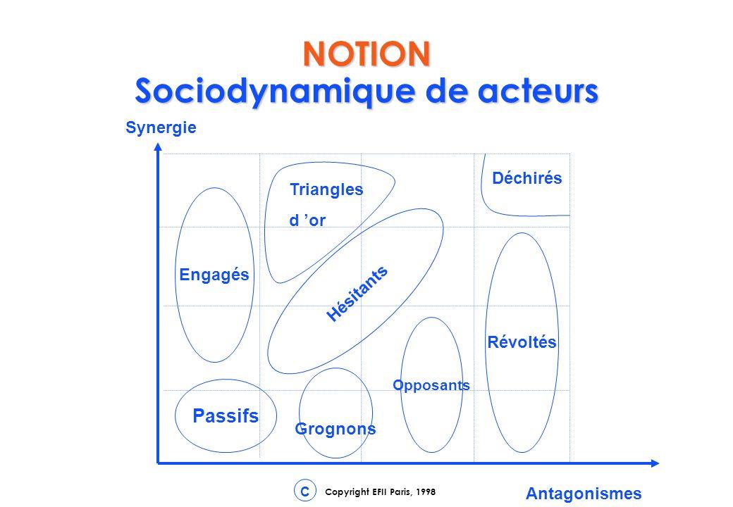 NOTION Sociodynamique de acteurs