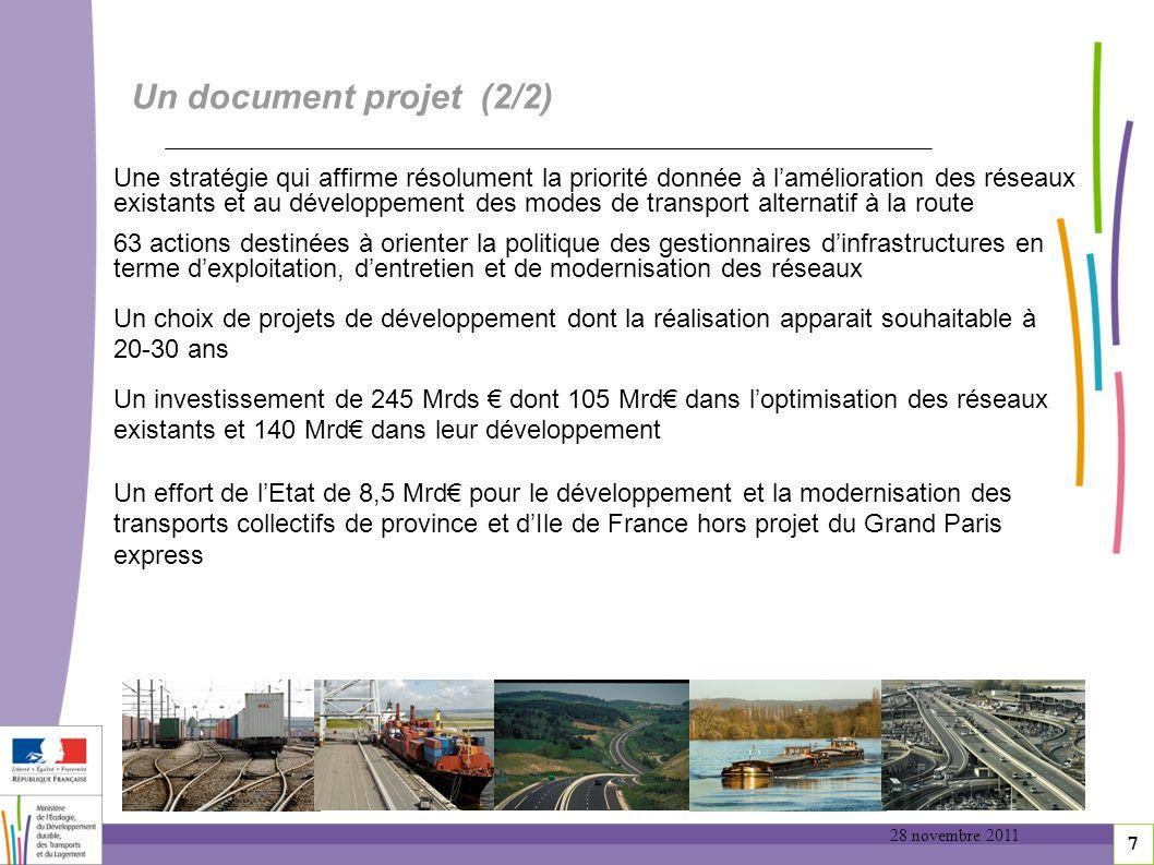 Un document projet (2/2)