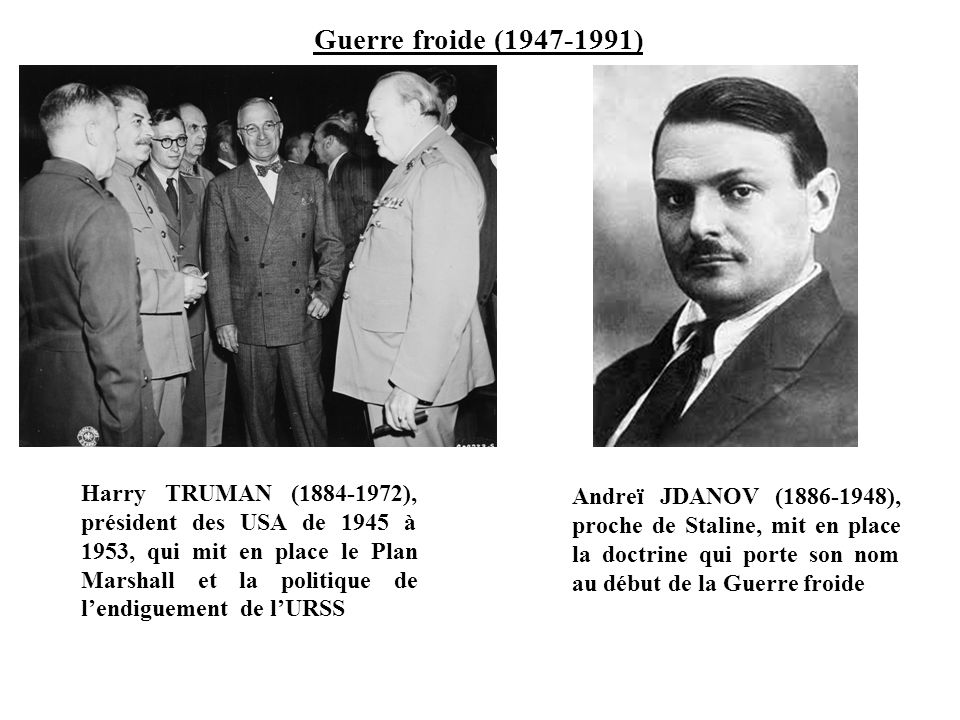 Guerre froide (1947-1991)