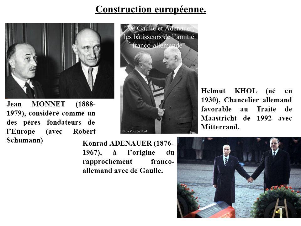 Construction européenne.