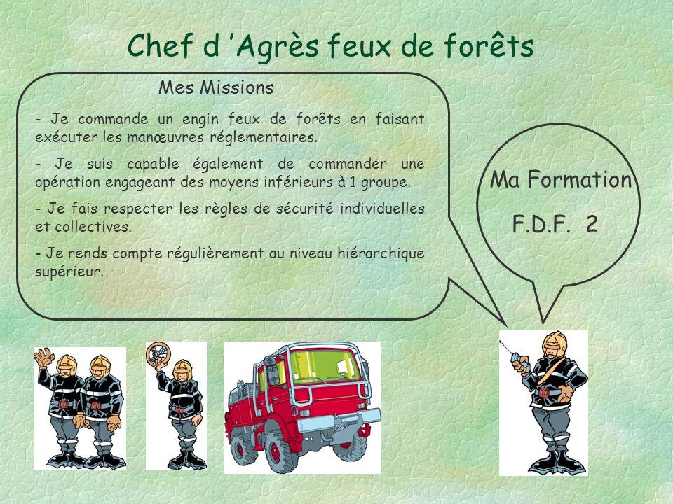 Chef d 'Agrès feux de forêts