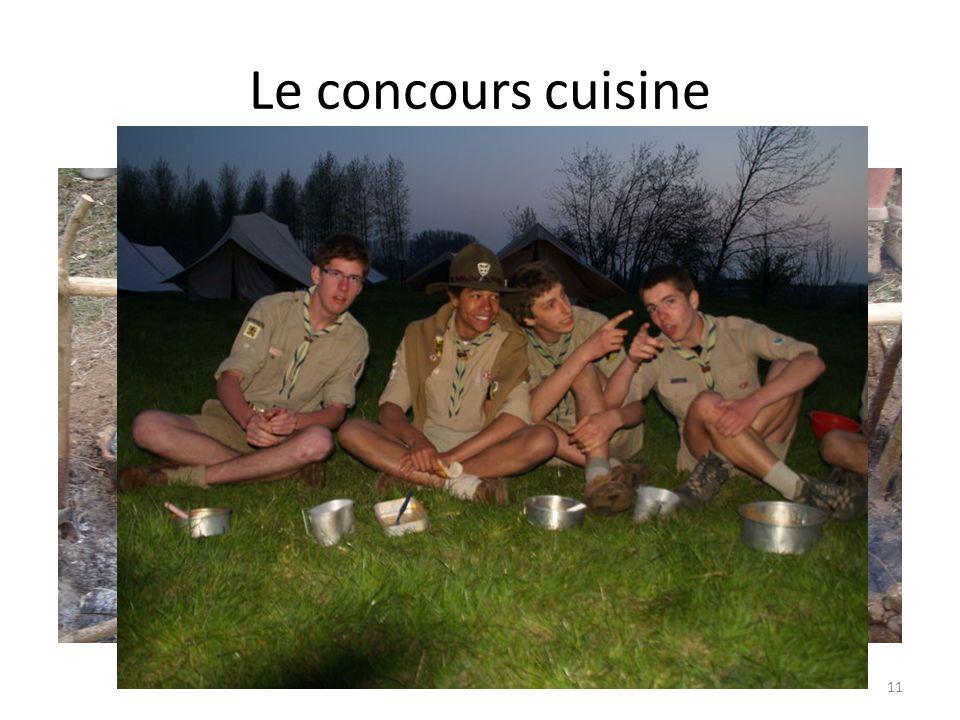 Le concours cuisine