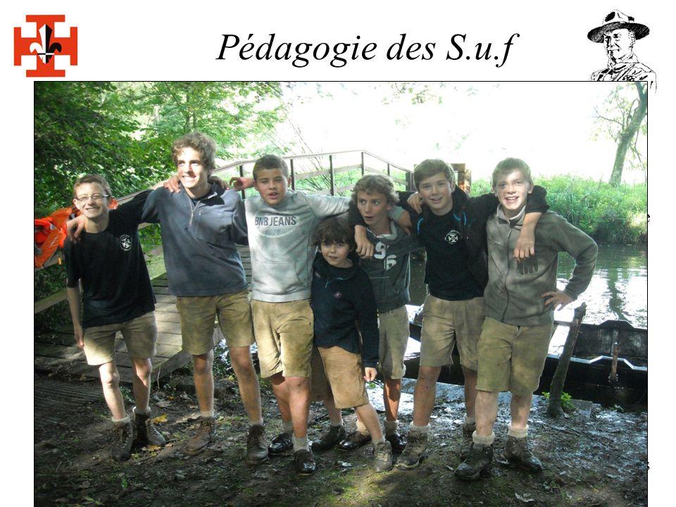 Pédagogie des S.u.f Les 5 buts du Scoutisme