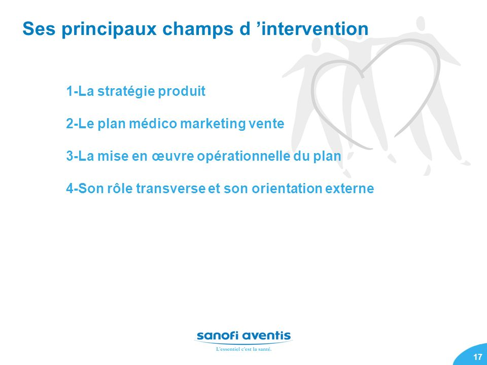 Ses principaux champs d 'intervention
