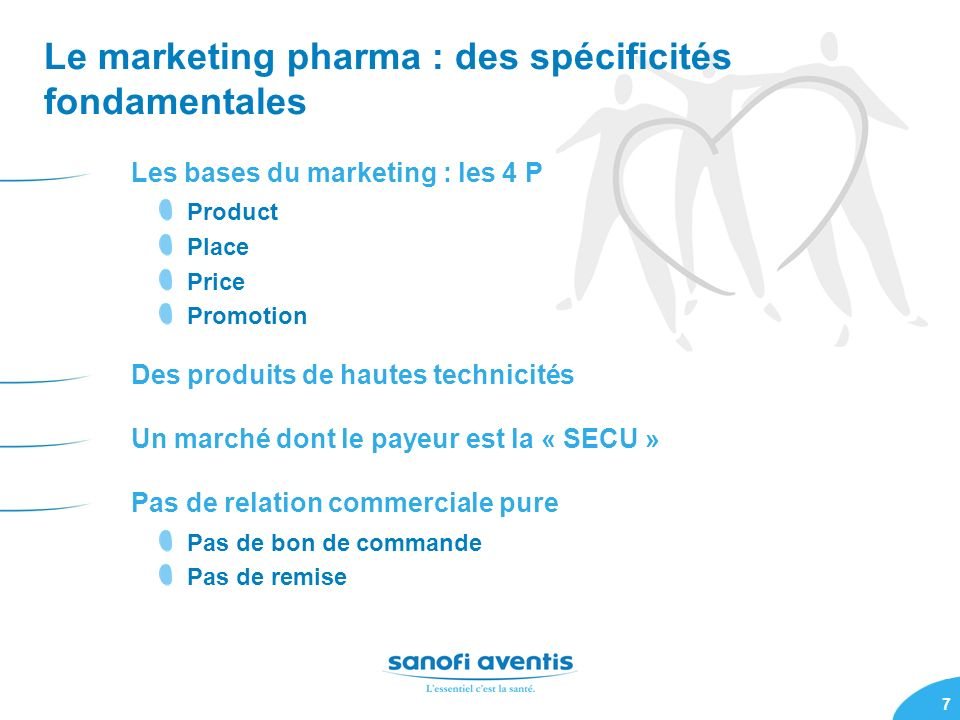 Le marketing pharma : des spécificités fondamentales
