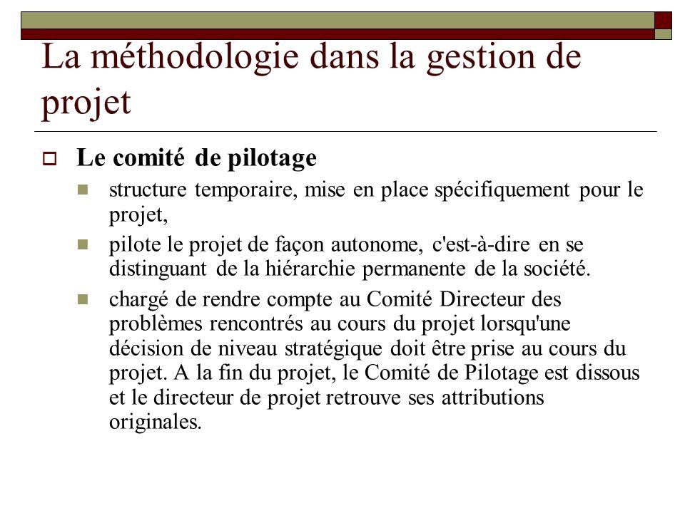 La méthodologie dans la gestion de projet