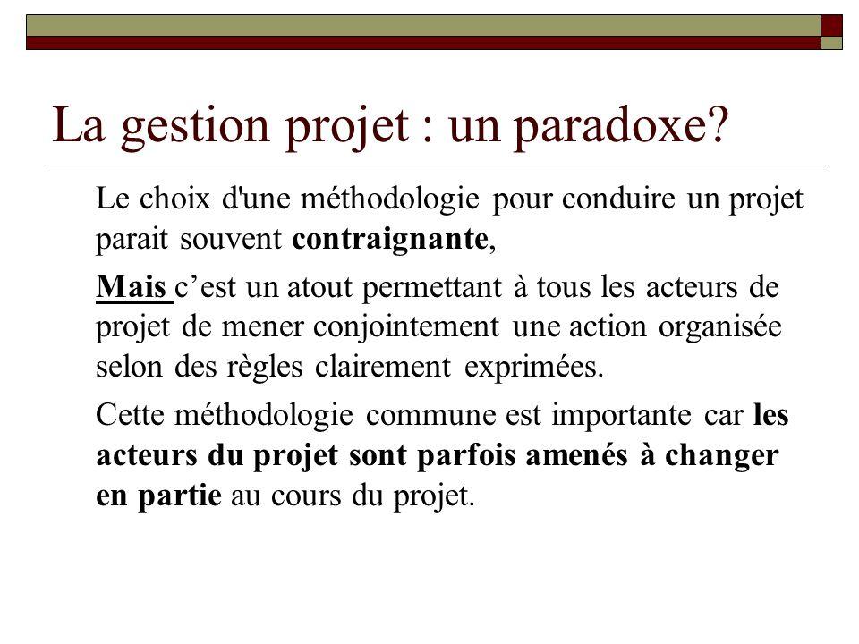 La gestion projet : un paradoxe
