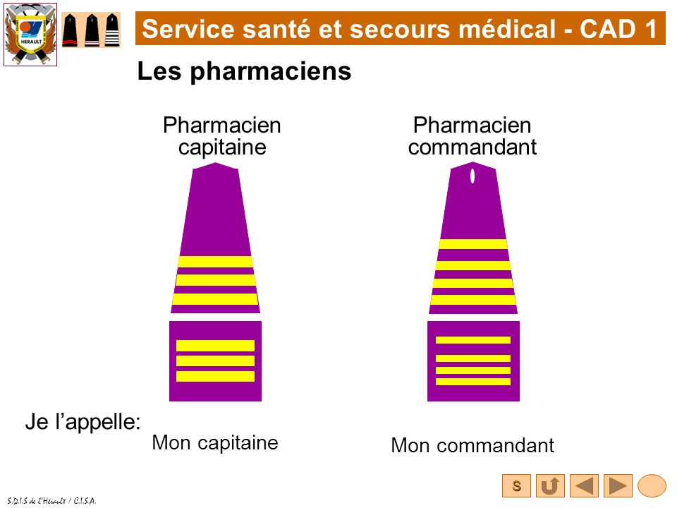 Pharmacien commandant
