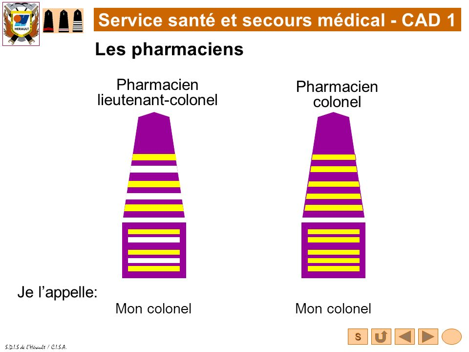 Pharmacien lieutenant-colonel