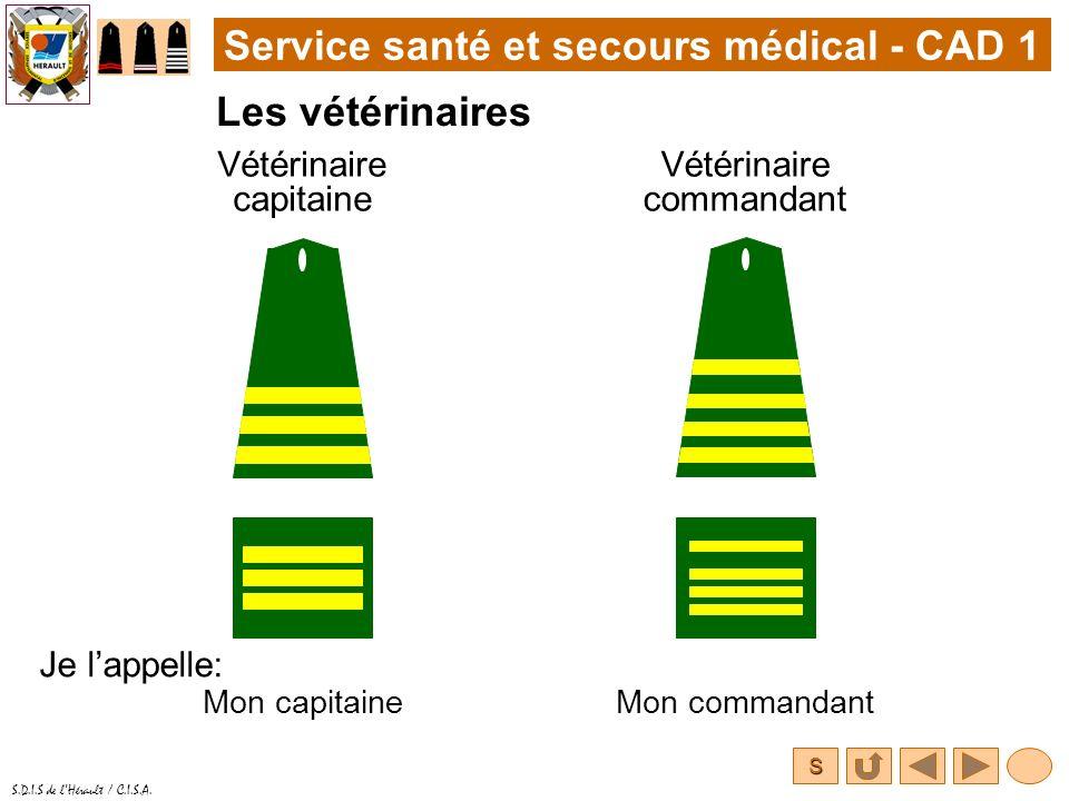 Service santé et secours médical - CAD 1