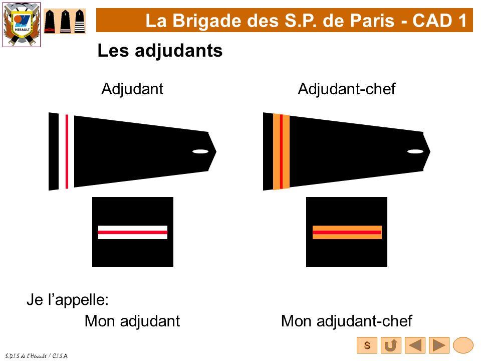 La Brigade des S.P. de Paris - CAD 1