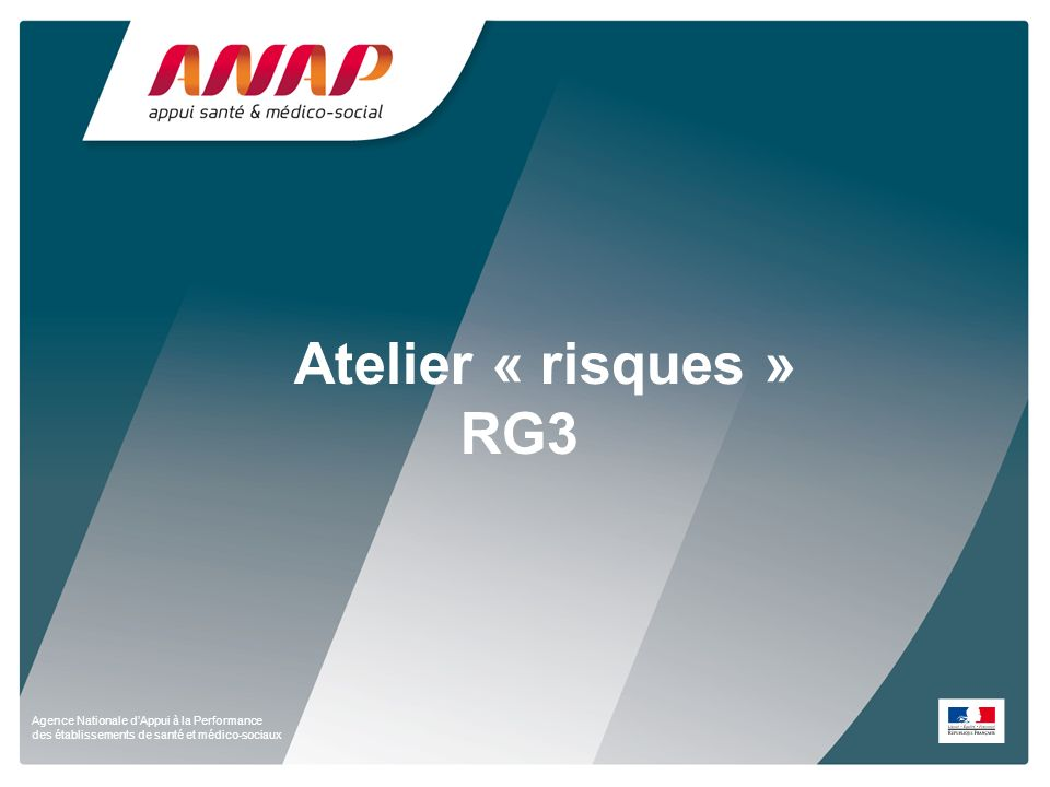Atelier « risques » RG3