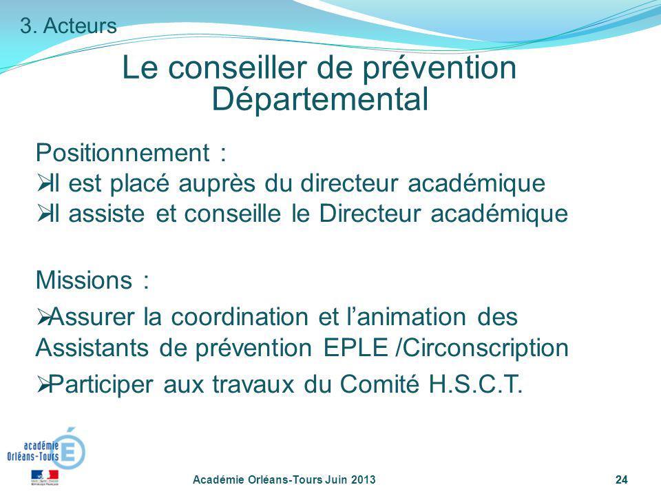 Le conseiller de prévention
