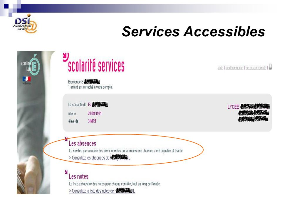 Services Accessibles