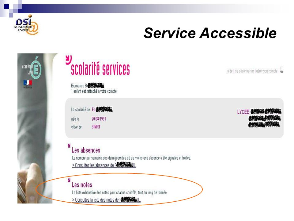 Service Accessible