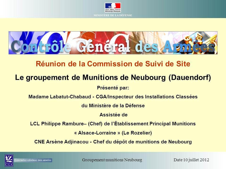 Réunion de la Commission de Suivi de Site