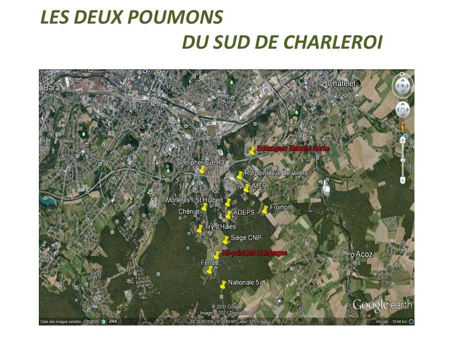 LES DEUX POUMONS DU SUD DE CHARLEROI