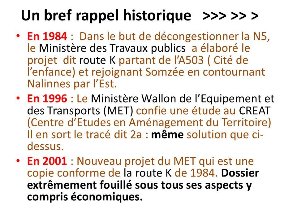 Un bref rappel historique >>> >> >
