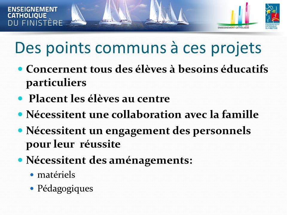 Des points communs à ces projets