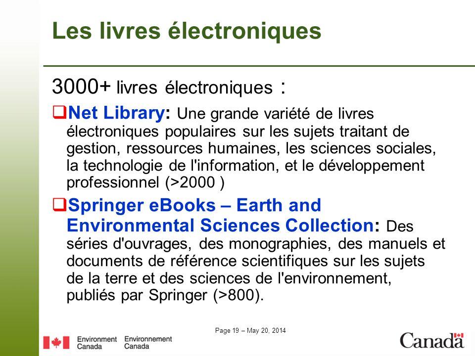 Les livres électroniques