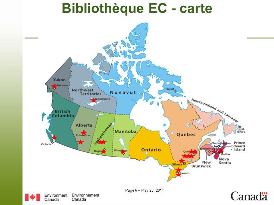 Bibliothèque EC - carte
